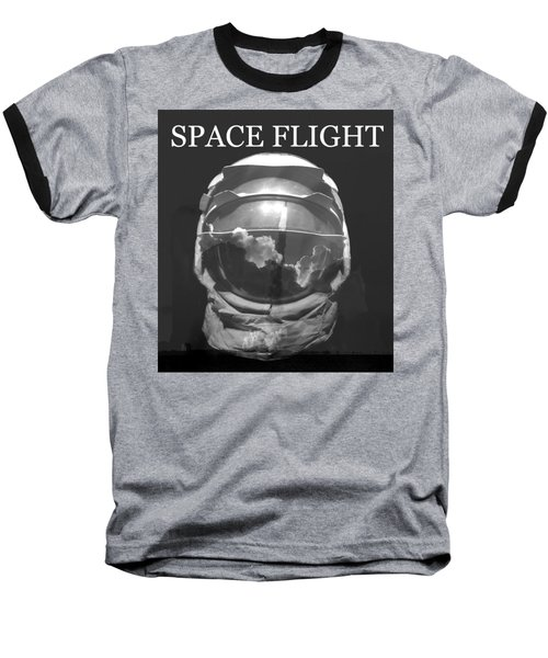 Baseball T-Shirt featuring the photograph Space Flight by David Lee Thompson