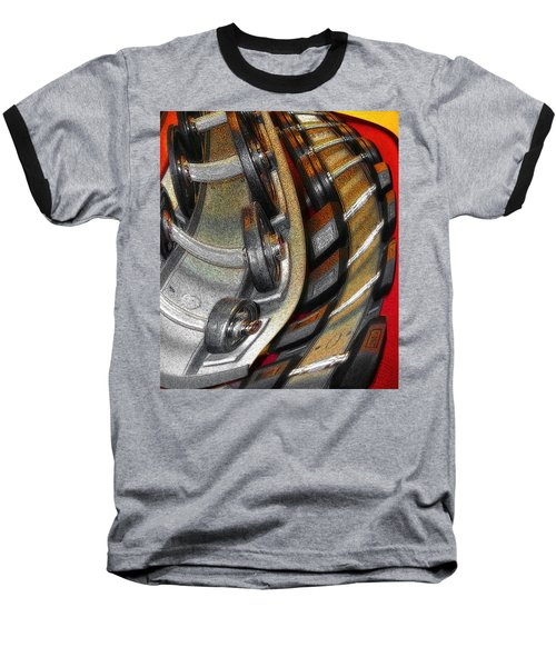 Space Geometry #3 Baseball T-Shirt