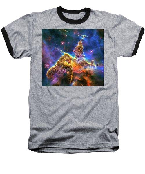 Space Image Mystic Mountain Carina Nebula Baseball T-Shirt