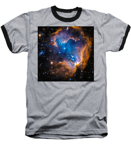 Space Image - New Stars And Nebula Baseball T-Shirt