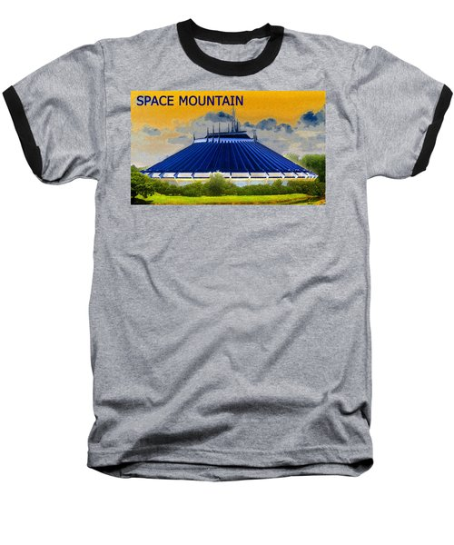 Space Mountain Baseball T-Shirt