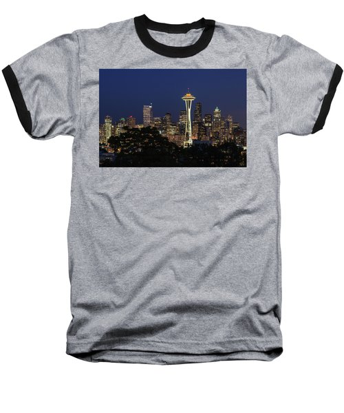 Baseball T-Shirt featuring the photograph Space Needle by David Chandler