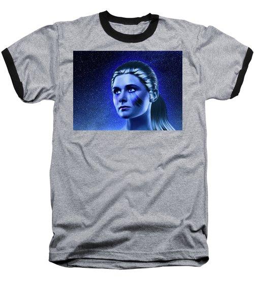 Space Odyssey Baseball T-Shirt by Scott Meyer