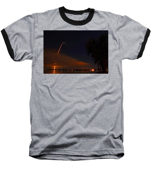 Space Station Bound Baseball T-Shirt