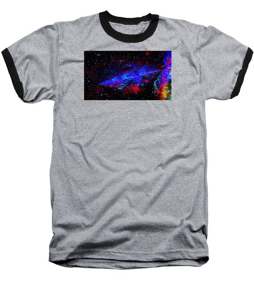 Space-time Continuum Baseball T-Shirt by Mike Breau