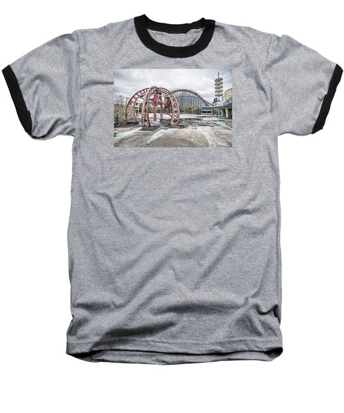 Baseball T-Shirt featuring the photograph Spaced Out by Andy Crawford