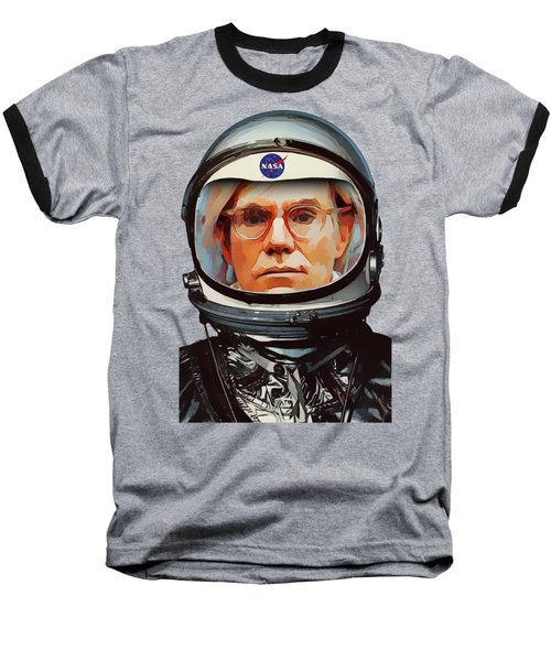 Spacesuit Warhol Baseball T-Shirt