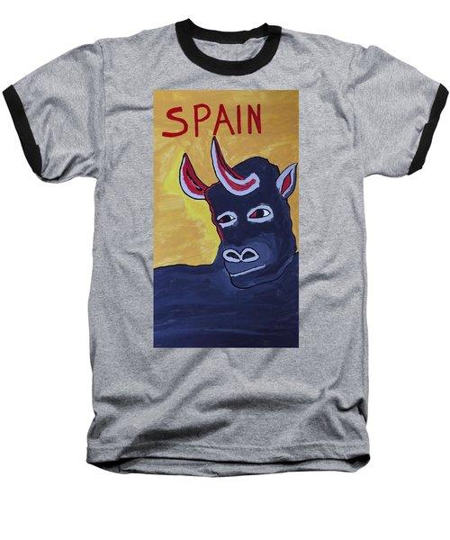 Spain  Baseball T-Shirt by Don Koester