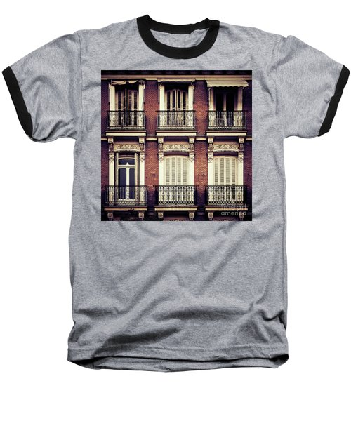 Spanish Balconies Baseball T-Shirt