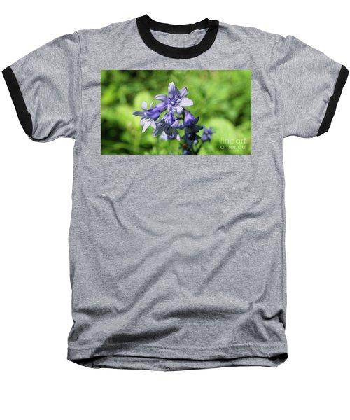 Spanish Bluebell Baseball T-Shirt
