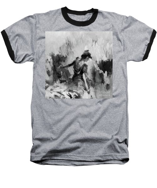 Baseball T-Shirt featuring the painting Spanish Dance 7734j by Gull G