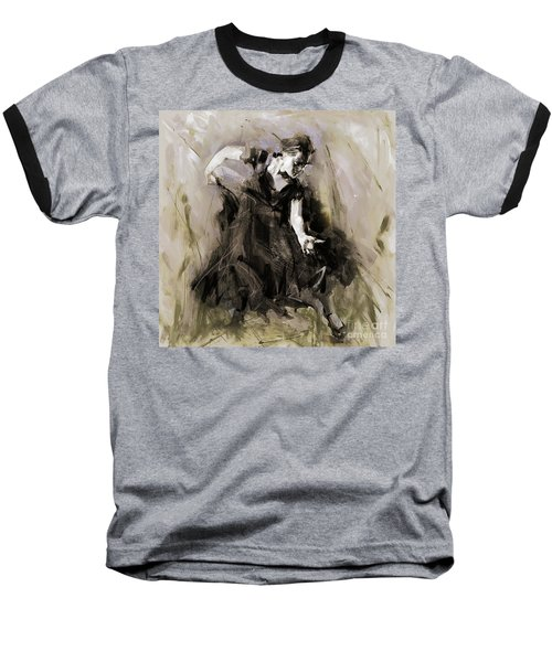 Baseball T-Shirt featuring the painting Spanish Dancer 3400i by Gull G