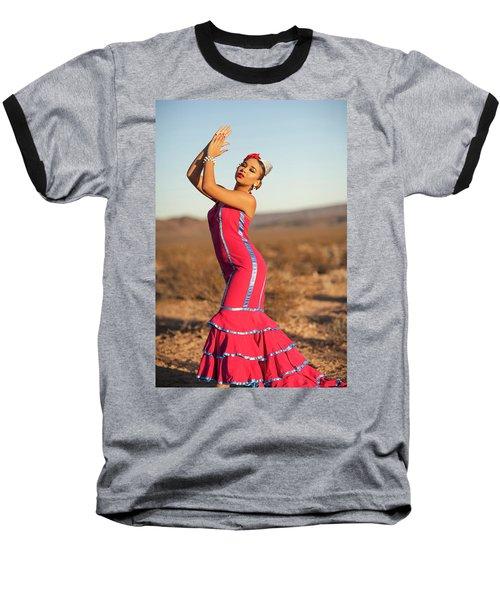 Spanish Dancer Baseball T-Shirt