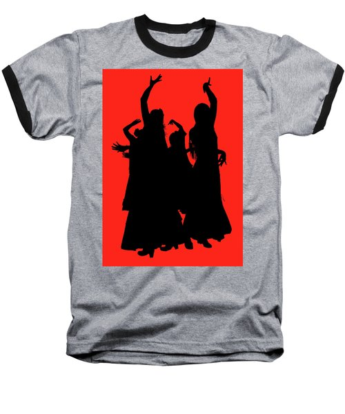Baseball T-Shirt featuring the photograph Spanish Dancers by Jeff Burgess