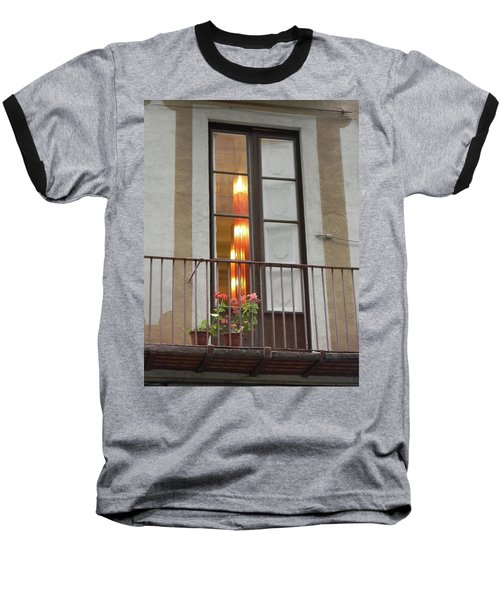 Spanish Siesta Baseball T-Shirt