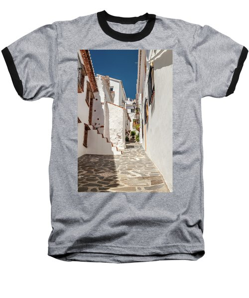Spanish Street 1 Baseball T-Shirt