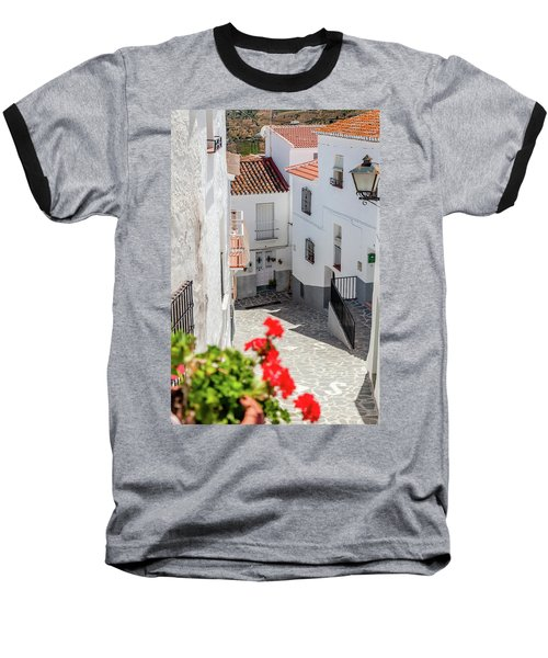 Spanish Street 3 Baseball T-Shirt