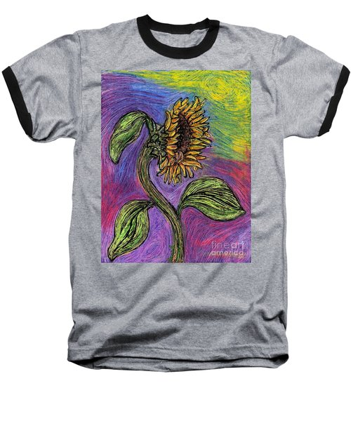 Spanish Sunflower Baseball T-Shirt