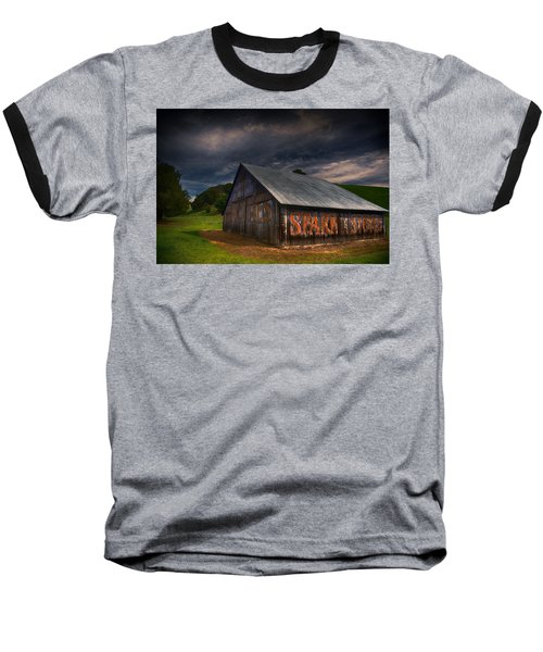 Spark Stoves Barn Baseball T-Shirt