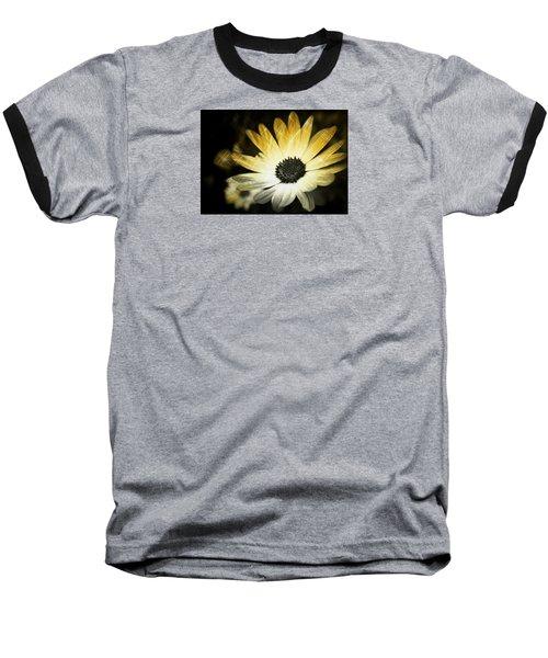 Baseball T-Shirt featuring the photograph Sparkle Daisies by Robin Regan