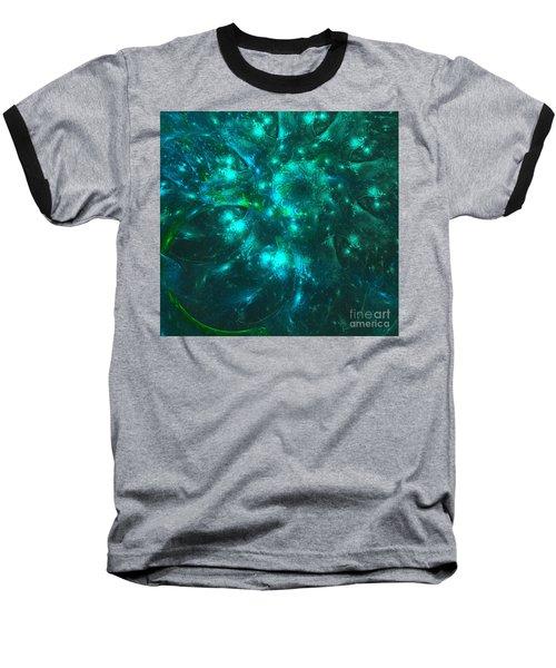 Sparkling Moss Baseball T-Shirt