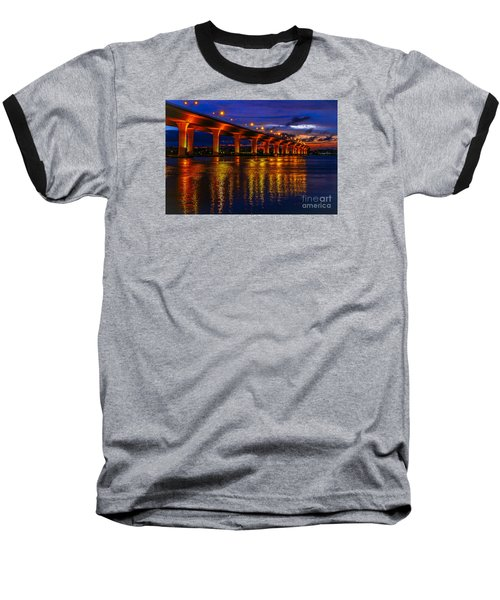 Sparkling Water Baseball T-Shirt by Tom Claud