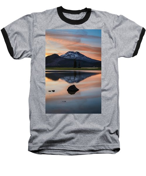 Sparks Lake At Sunset Baseball T-Shirt