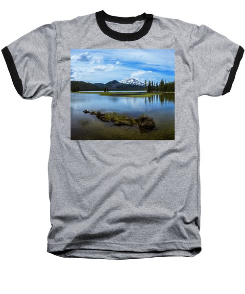 Sparks Lake, Oregon Baseball T-Shirt