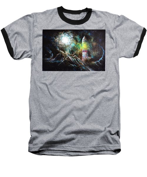 Sparks - The Storm At The Start Baseball T-Shirt by Sandro Ramani