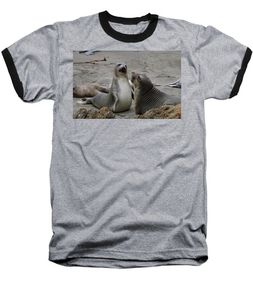 Sparring Seals  Baseball T-Shirt