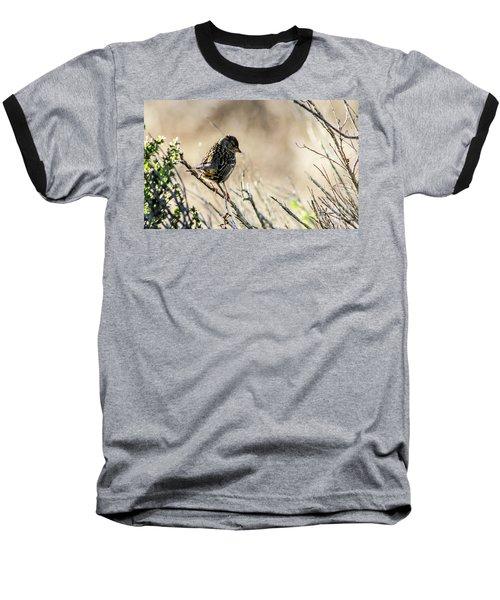 Snarky Sparrow Baseball T-Shirt