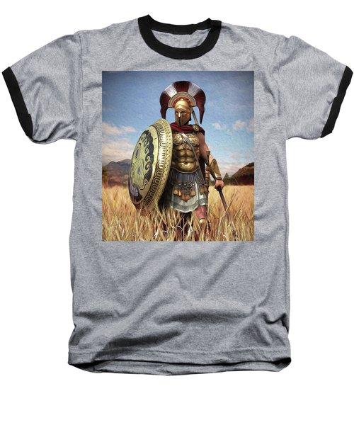 Spartan Hoplite - 02 Baseball T-Shirt