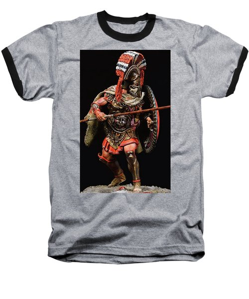 Spartan Hoplite - 05 Baseball T-Shirt