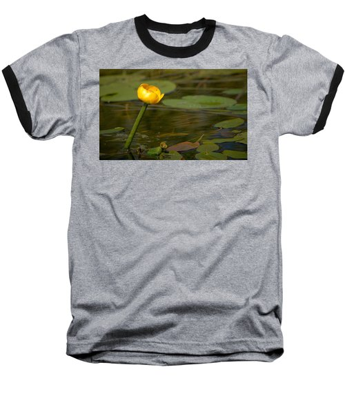Baseball T-Shirt featuring the photograph Spatterdock by Jouko Lehto