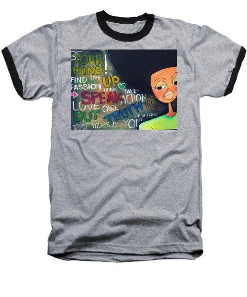 Speak Baseball T-Shirt