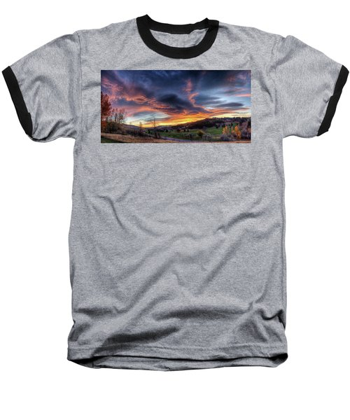 Spearfish Canyon Golf Club Sunrise Baseball T-Shirt