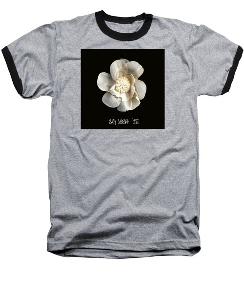 Special Magic Flower - For A Special Lady Baseball T-Shirt by Sir Josef - Social Critic -  Maha Art