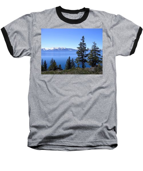 Spectacular Lake Tahoe Baseball T-Shirt