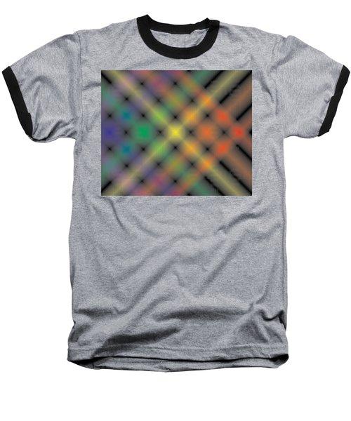 Spectral Shimmer Weave Baseball T-Shirt