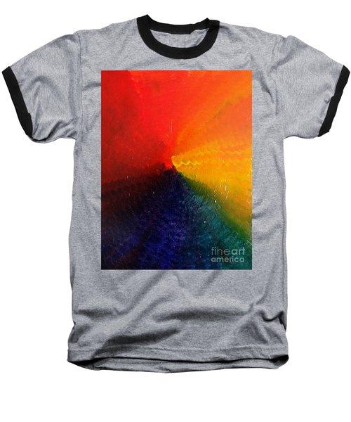 Spectral Spiral  Baseball T-Shirt