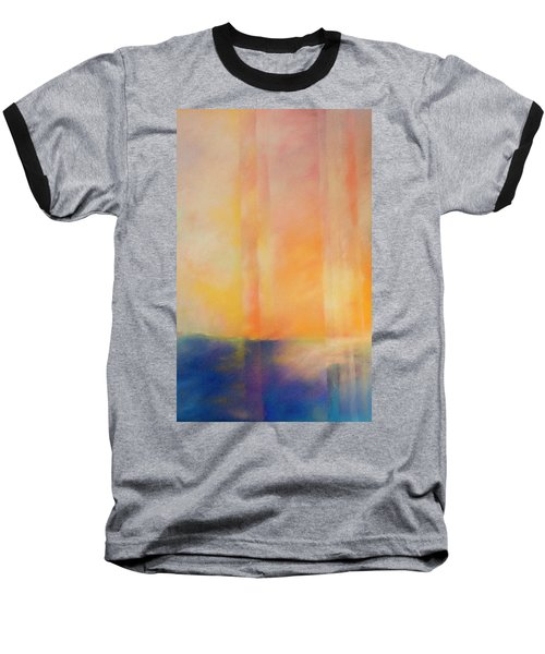 Spectral Sunset Baseball T-Shirt