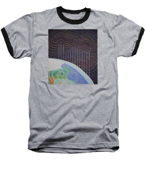 Spectrum Earth Spacescape Baseball T-Shirt