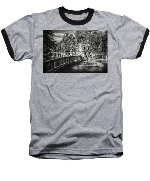 Baseball T-Shirt featuring the photograph Speedwell Swirls by Eduard Moldoveanu