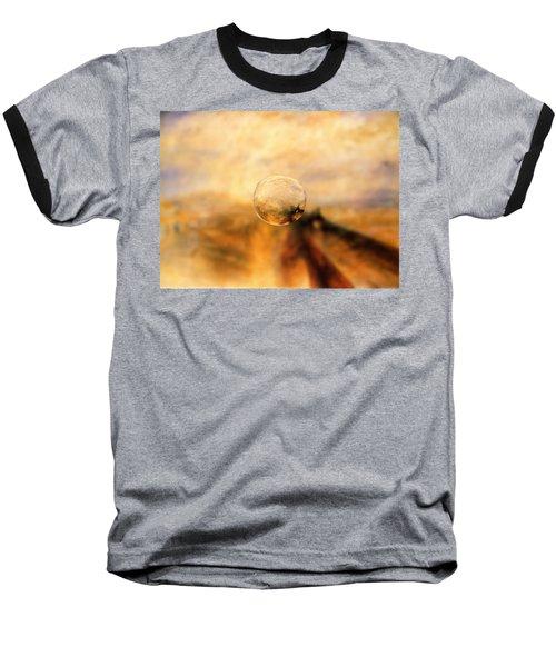 Sphere 8 Turner Baseball T-Shirt by David Bridburg