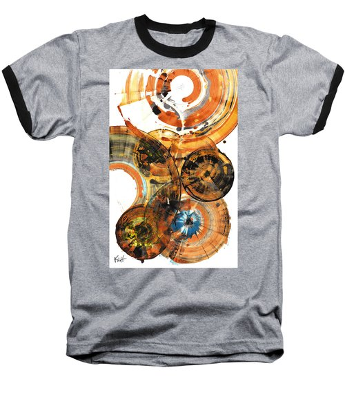 Baseball T-Shirt featuring the painting Sphere Series 1024.050312 by Kris Haas