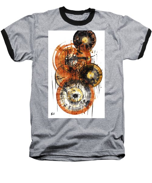 Baseball T-Shirt featuring the painting Sphere Series 1028.050412 by Kris Haas