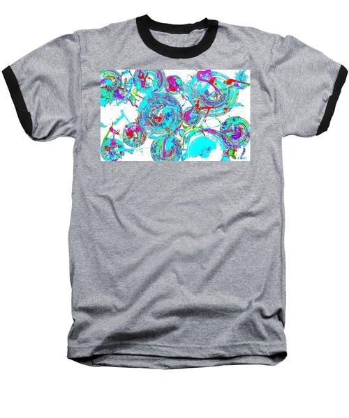 Spheres Series 1511.021413invfddfs-sc-2 Baseball T-Shirt by Kris Haas