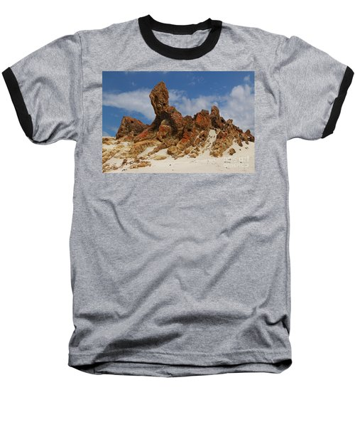 Baseball T-Shirt featuring the photograph Sphinx Of South Australia by Stephen Mitchell