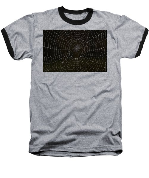 Spider Cobweb  Baseball T-Shirt