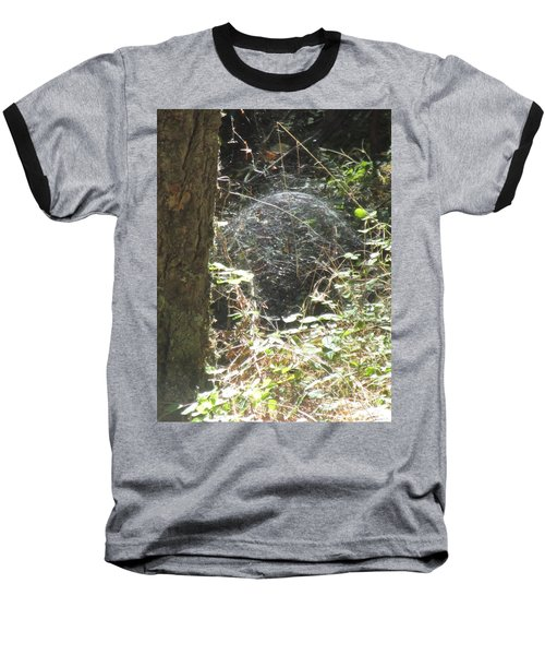 Baseball T-Shirt featuring the photograph Spider Dome by Marie Neder